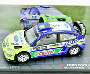 Model Car Rally Ford Focus Rs WRC Rallye collection IXO Scale 1:43 diecast