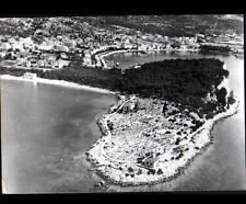 MAKARSKA (YOUGOSLAVIE) VILLAS & RESIDENCES en vue aérienne en 1965