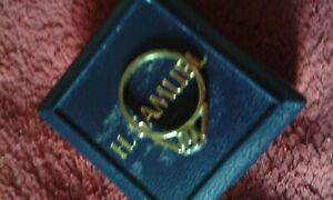 Ladies 18 Ct Gold 1/4 CT Diamond Solitaire Ring UK K USA 5 Birmingham Hallmarked