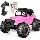 RC Cars High Speed Hobby Pink RC Trucks for Girls Kids 1 18 Scale Rc Car Pink