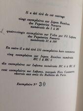 PIERRE GAXOTTE / LE NOUVEL INGENU/ edition originale /VELIN PUR FIL