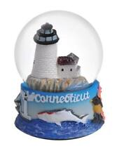 Connecticut Snowdome Snow Globe-New -65mm