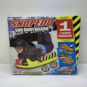 Sportsstuff Snopedo Inflatable Snow Tube/Sled