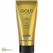 Art of Sun GOLD brillant dark bronzer 200ml Solarium Kosmetik SonnenstudioLotion