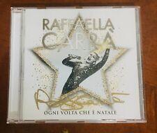 """Disco """"Ogni Volta che è Natale"""" di Raffaella Carrà Autografato"""