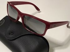 NWT RAY BAN Men's RB 4151 6008/71 DARK RED/GREY GRADIENT 100% UV SUNGLASSES