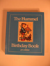 The Hummel Birthday Book ARS Collectors Edition Pictures Quotes