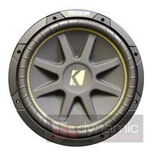 "KICKER C15 Comp 15"" Car Subwoofer SVC 4-Ohm 500W Sub 10-C15-4 Woofer New"