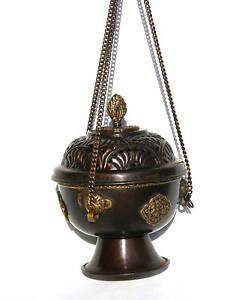 Räucherschale Gefäß Räucherbox Weihrauch Buddha M100-8