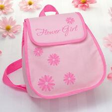 wedding flower girl gift flower girl backpack pink