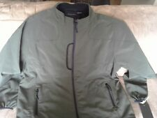 NWT Men's Synrgy Softshell Bonded Fleece Jacket- Olive Size XLT  Free Shipping!