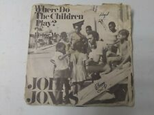 "John Jones-Where Do The Children Play? 7"" Vinyl Single 1971 SUPER RARE SINGLE"