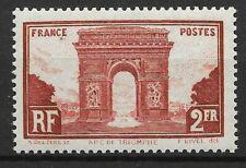 FRANCE ARC DE TRIOMPHE N° 258 NEUF * GOMME AVEC CHARNIERE