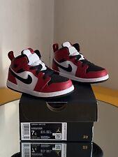 Air Jordan 1 Mid Chicago Black Toe (Toddler)