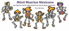 6 SEPARATE CUTOUTS! CATRINAS! DAY OF THE DEAD   DIA DE LOS MUERTOS    BEST DEAL!