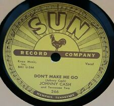 ROCKABILLY, SUN 78 RPM, NEAR MINT, JOHNNY CASH, NEXT IN LINE / DONT MAKE ME GO