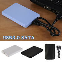 "2.5"" USB 3.0 External 2TB SATA SSD HDD Hard Disc Drive Mobile Enclosure Case Box"