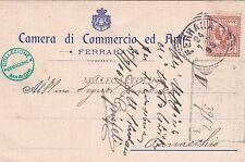 FERRARA - Camera di Commercio ed Arti 1906