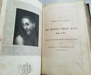 1860s LIFE OF THE BLESSED VIRGIN MARY Abbe Orsini Poems Litany Loretto HUSENBETH