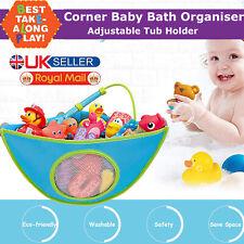 Baby Bath Toy Storage Bathroom Net Mesh Bag Organiser Tidy Kids Suction Holder