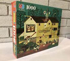 Vintage MB Charles Wysocki Dr. Irving Roberts Veterinary Surgeon Puzzle 1000 Pcs