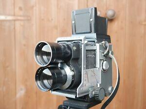 Mamiya TLR C3 180mm lens WLF & Metered Viewfinder Camera medium format