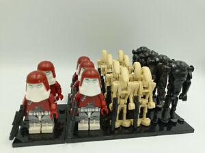 Lego Star Wars kompatible Minifiguren, 17er Set, Galactic Marines Clonetrooper