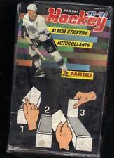1990-91 Panini Hockey Sticker Sealed Box 100 Packs 6 Stickers to Pack
