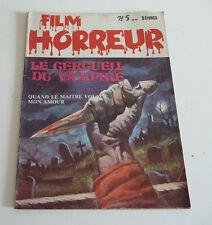 Mag BD Horreur SF Roman PHOTO  FILM HORREUR  N° 5      sep21