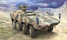 Modellini statici di veicoli militari in plastica scala 1:72