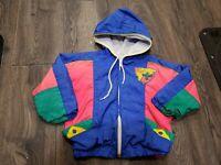 Vintage Child Size 4 Windbreaker Jacket Tiny Tots Original