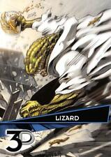 LIZARD / Marvel 3D (Upper Deck 2015) BASE Trading Card #12