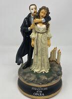 1986 San Francisco Music Box Co Phantom of the Opera & Christine #1887/7500 EUC
