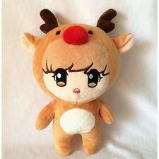 "Kpop EXO-M Group Luhan 10"" Plush Toy Reindeer Bear Stuffed Doll Fans Fashion New"
