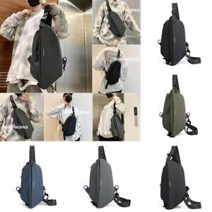 Men Small Chest Bag Sling Bag Sport Purse Belt Bag Shoulder Sling Backpack