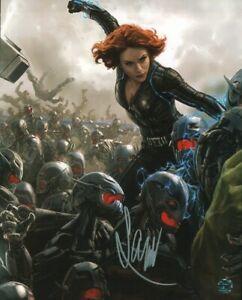 Scarlett Johansson Autographed Photo COA Actress Singer Marvel Avengers Assemble