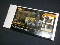 Fox Camolite Brew Kit Bag Carp fishing tackle