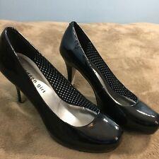 Madden Girl Women's Getta Black Pump Heels Size 7  Y12