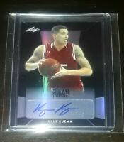 2017-18 Leaf Metal Draft KYLE KUZMA Black Rookie RC AUTO #'d/15! PSA/BGS? 🔥💍📈