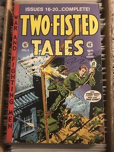 TWO-FISTED TALES vol 4 EC COMICS 16 17 18 19 20 1997 pre-code military war comic