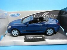 "Welly Modelcar DieCast 1/36-39 4.5"" Toyota Soarer Convertible blue"