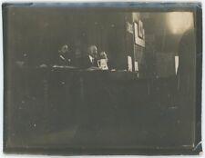 Carte photo. Congrès socialiste d'Amiens. 1914. Georges Épinette, socialisme.