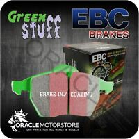 NEW EBC GREENSTUFF FRONT BRAKE PADS SET PERFORMANCE PADS OE QUALITY - DP21517