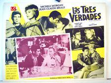 ¡ONLY AVAILABLE 24h.!/ LES PUITS AUX TROIS VERITES/MICHELLE MORGAN/1961/OPTIONAL