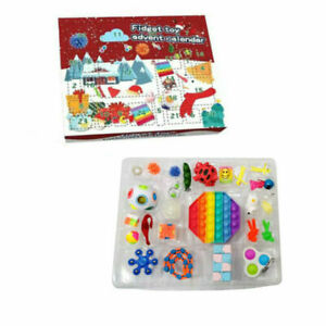Fidget Toy Christmas Advent Calendar Calenders - In Stock Now - Limited Quantity