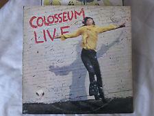 Colosseum- Live-1971 UK Original Vinyl Record-Bronze ICD 1- Vg.Vg.Vg.Cond.