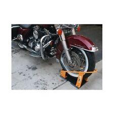 Chock Wheel Motorcycle Quick Release Mount Storage Transport Trailer Floor Roll