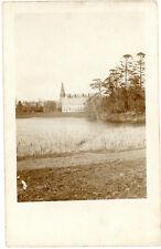 Fotokarte Frankreich Belgien Schloss Chateau  WWI 14/18