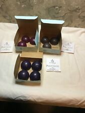 """Partylite New Lot 10 Aroma Melts 2 1/4"""" Teakwood/Cardamom Mulberry Black Orchid"""