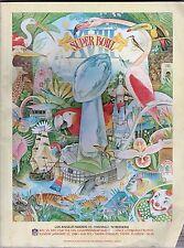 Super Bowl XVlll Program Raiders / Redskins